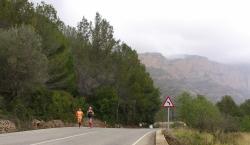 Hispaania pinnal Moonikaga kilomeetreid korjamas